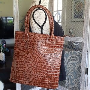 Alligator Embossed Tote